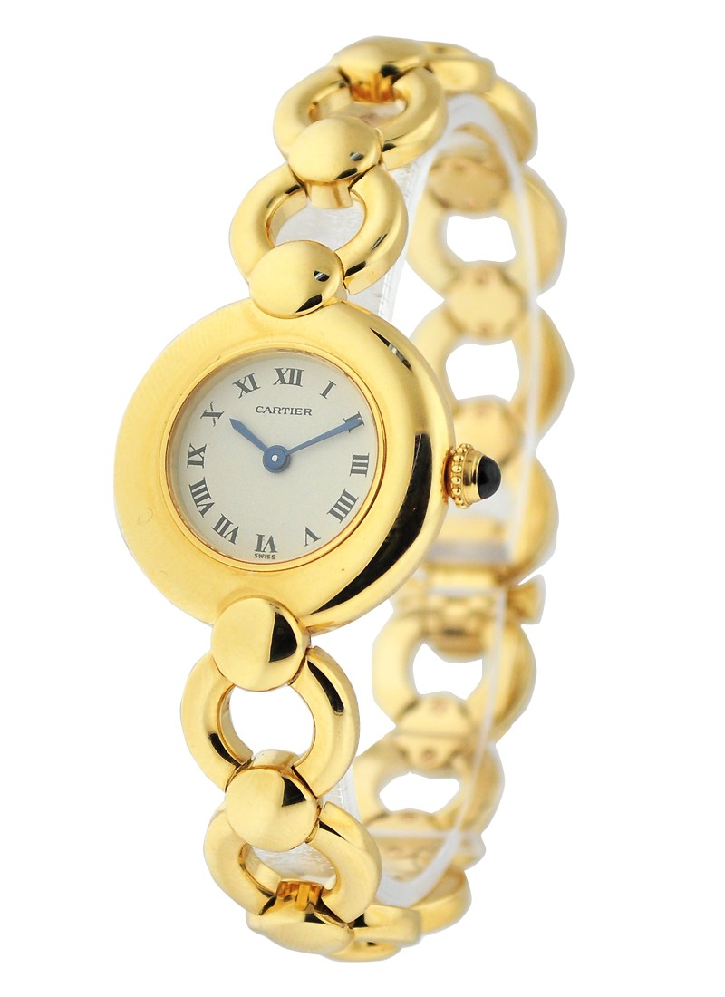 Cartier Yellow Gold Colisee