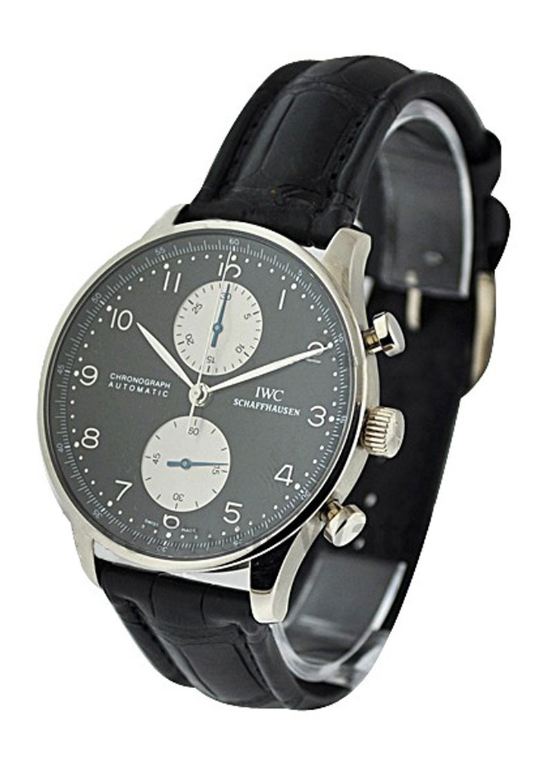 IWC Portuguese Chrono Automatic In White Gold
