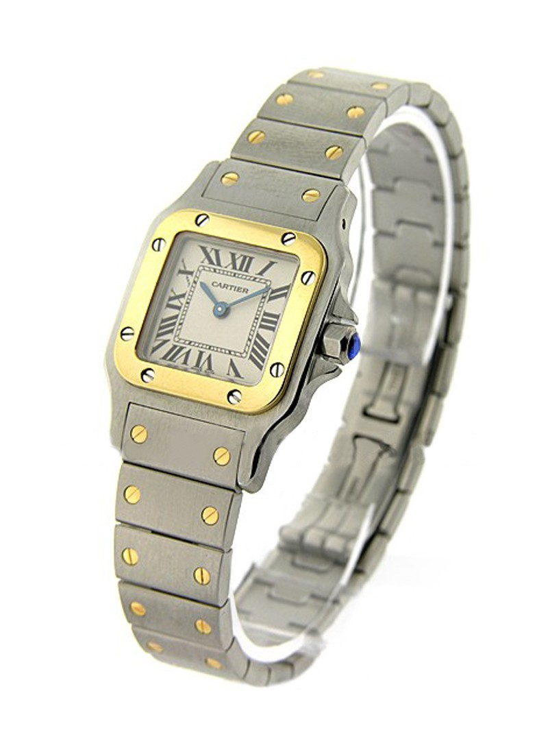 Cartier Santos Square Small Size in 2-Tone