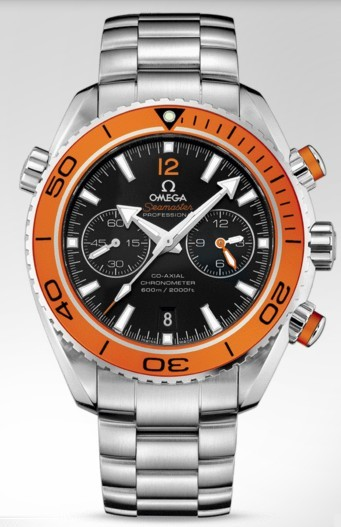 Omega Seamaster Planet Ocean 45mm in Steel