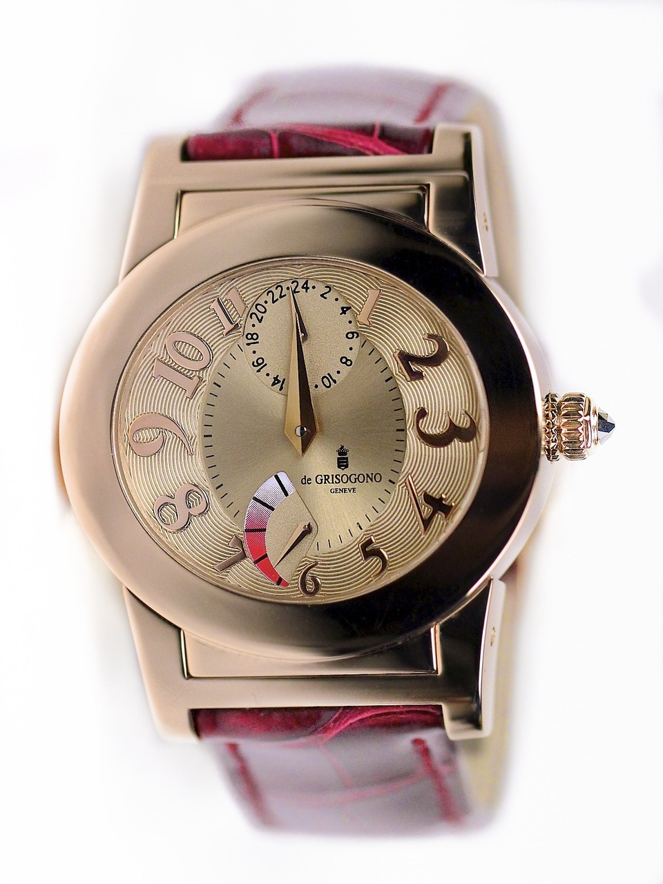 de Grisogono Tondo 38.5mm Automatic in Rose Gold