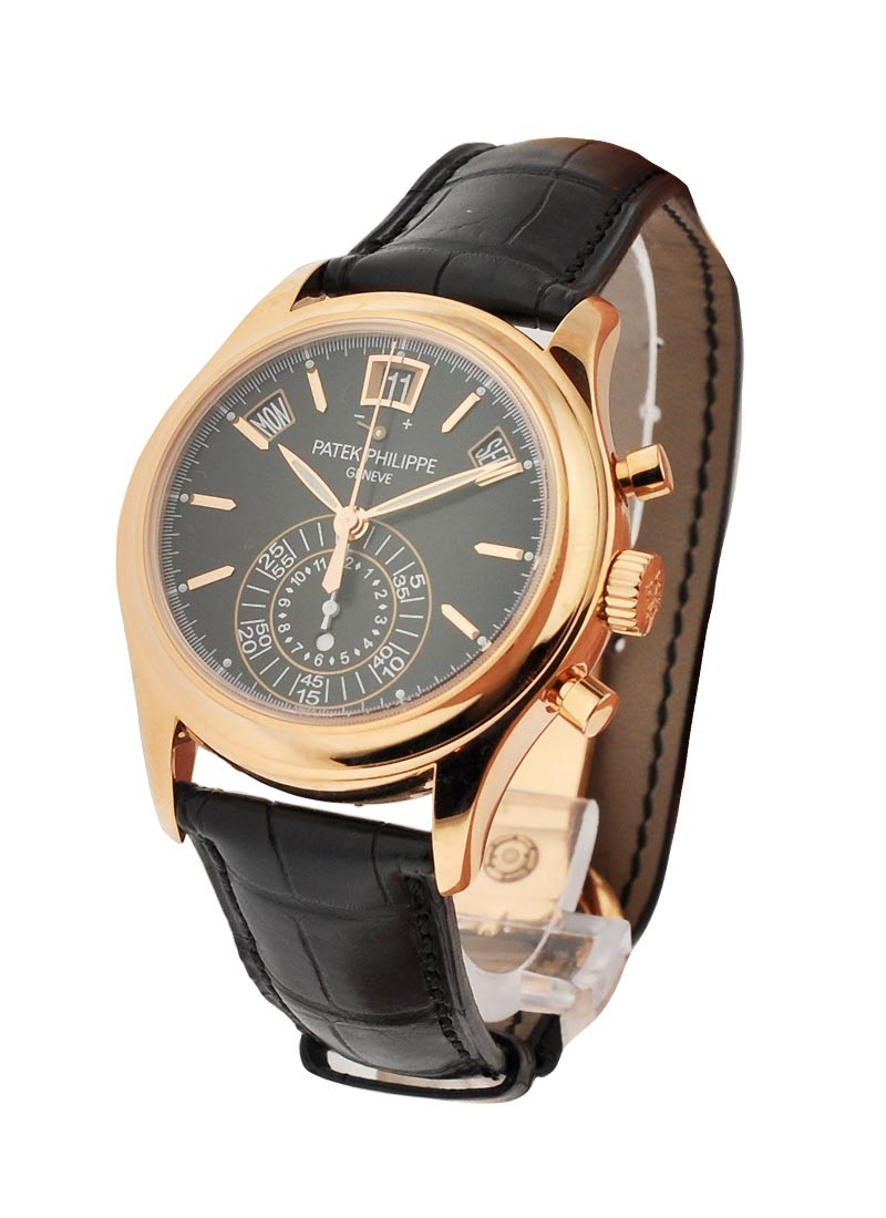 Patek Philippe 5960 Automatic Chronograph in Rose Gold