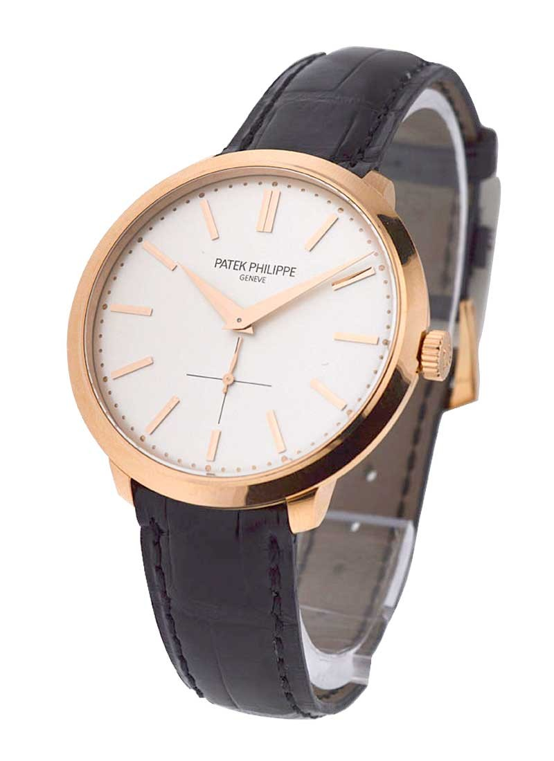 Patek Philippe Calatrava Ref 5123R-001 in Rose Gold