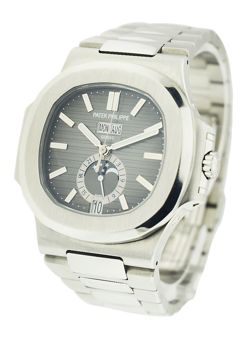 Patek Philippe Nautilus with Annual Calendar  5726/1A in Stainless Steel