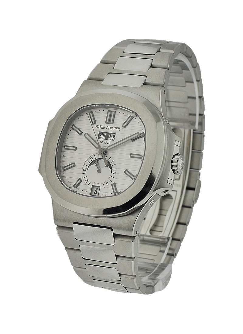 Patek Philippe Nautilus with Annual Calendar 5726 in Steel
