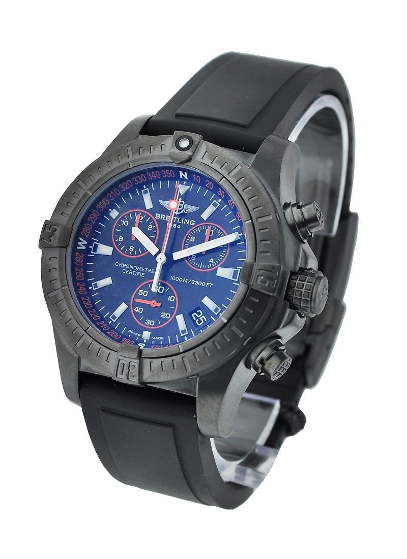Breitling Avenger Seawolf Chronograph Code Orange in Steel