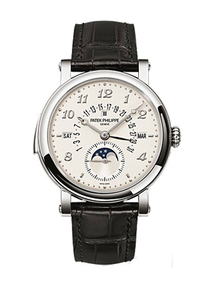 Patek Philippe Grand Complication Minute Repeater 5213G in White Gold
