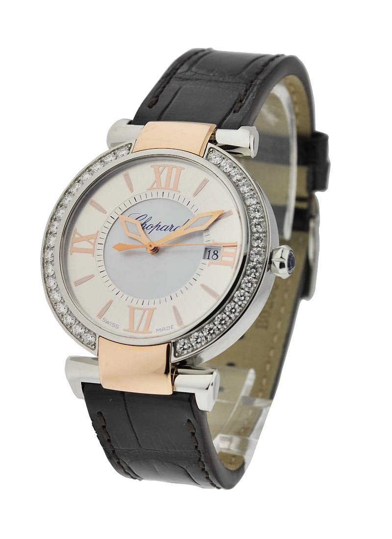 Chopard Imperiale Round 36mm Quartz in 2 Tone with Diamond Bezel
