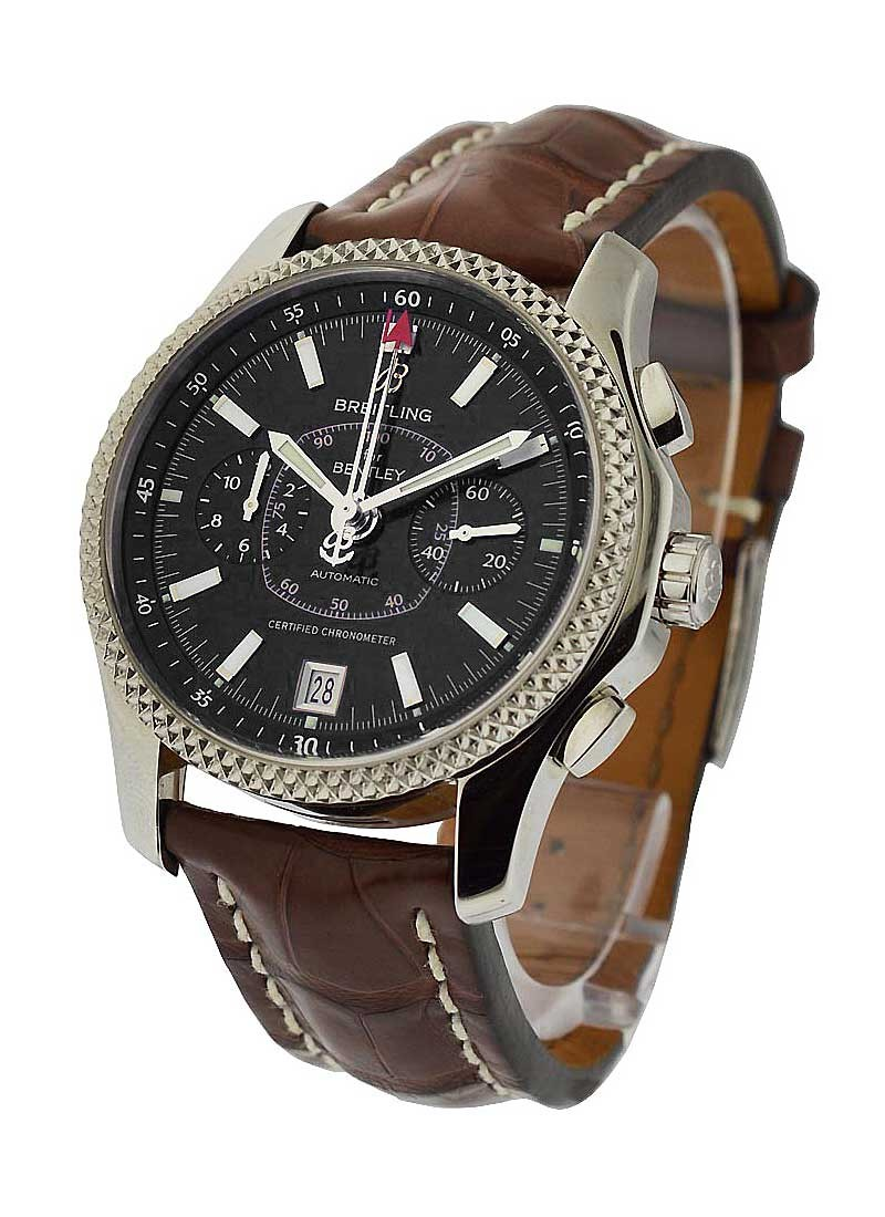 Breitling Bentley Mark VI Complications 19 in Steel with Platinum Bezel