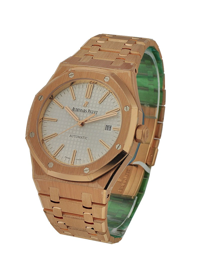 Audemars Piguet Royal Oak  41mm in Rose Gold