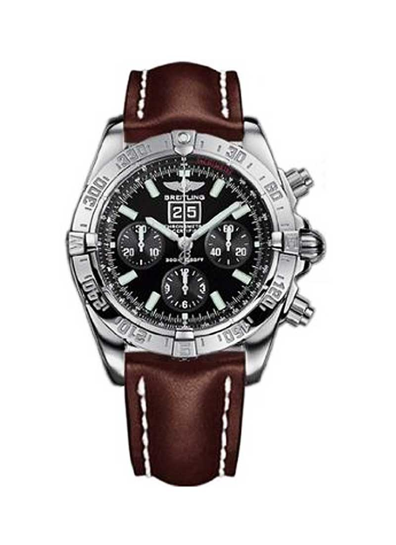 Breitling Windrider Blackbird Chronograph in White Gold