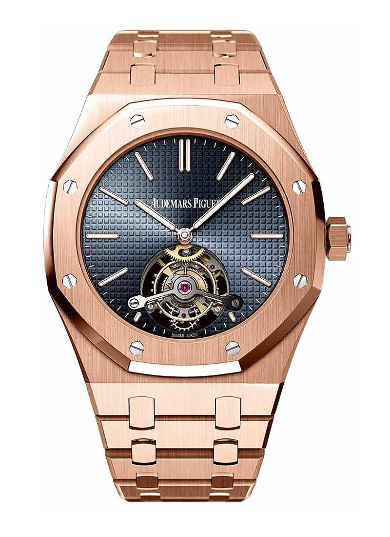 Audemars Piguet Royal Oak Tourbillon in Rose Gold
