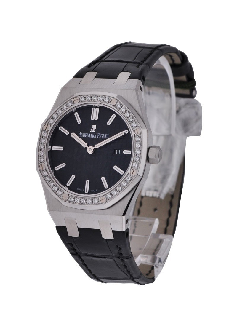 Audemars Piguet Royal Oak Ladys Stainless Steel with Diamond Bezel