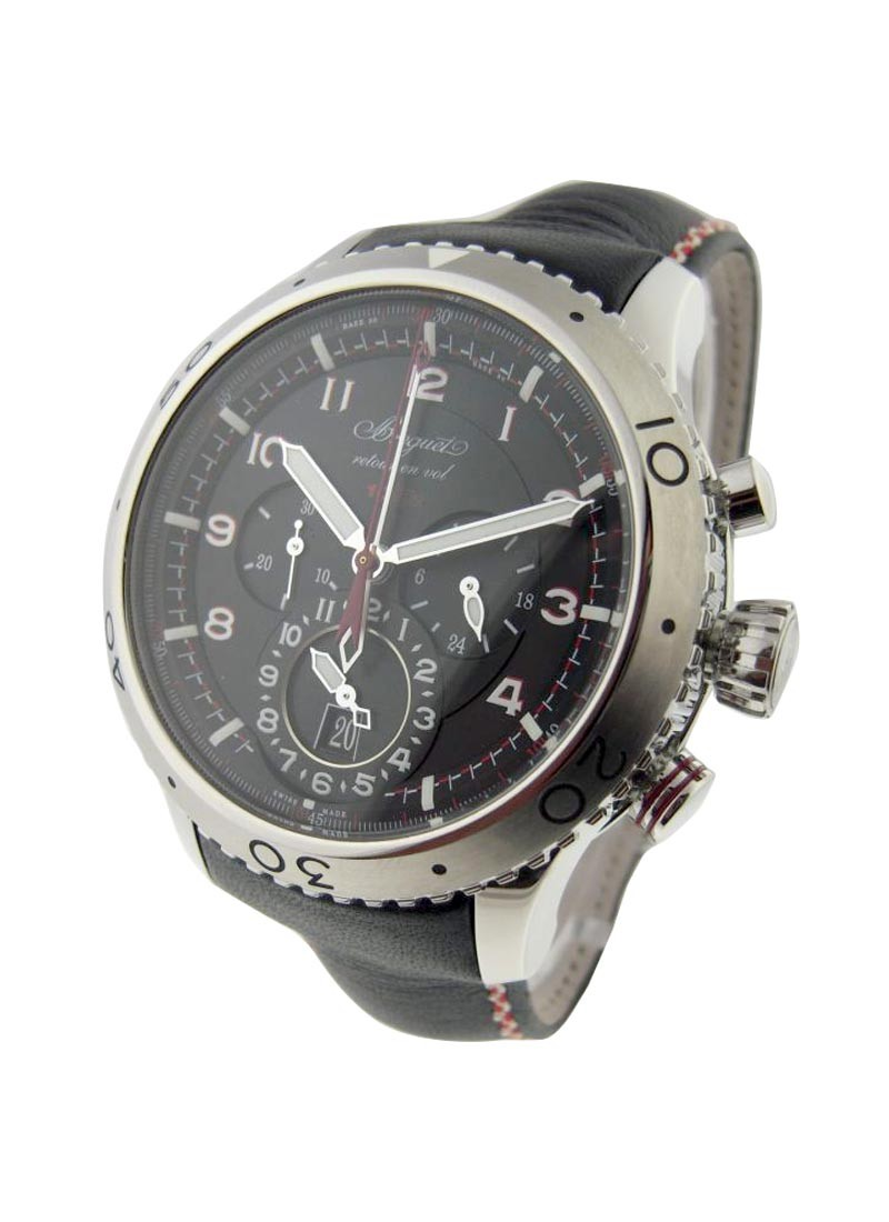 Breguet Type XXII Flyback Chronograph in Steel