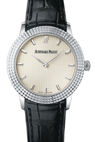 Audemars Piguet Classic Clous de Paris Automatic in White Gold