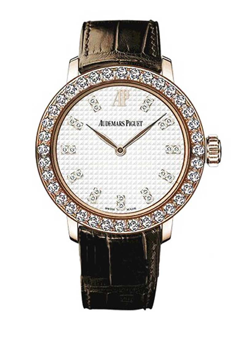 Audemars Piguet Classic Lady's Automatic in Rose Gold with Diamonds Bezel