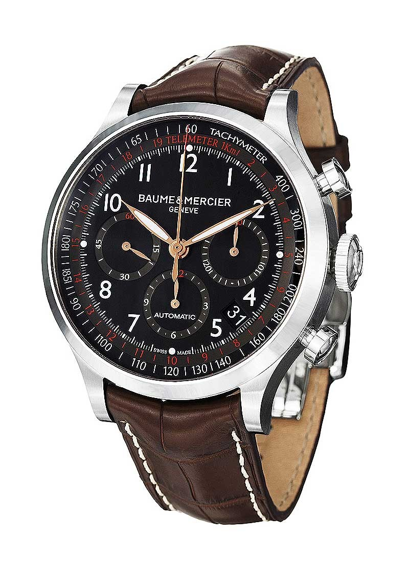 Baume & Mercier Capeland Chronograph 44mm Automatic in Steel