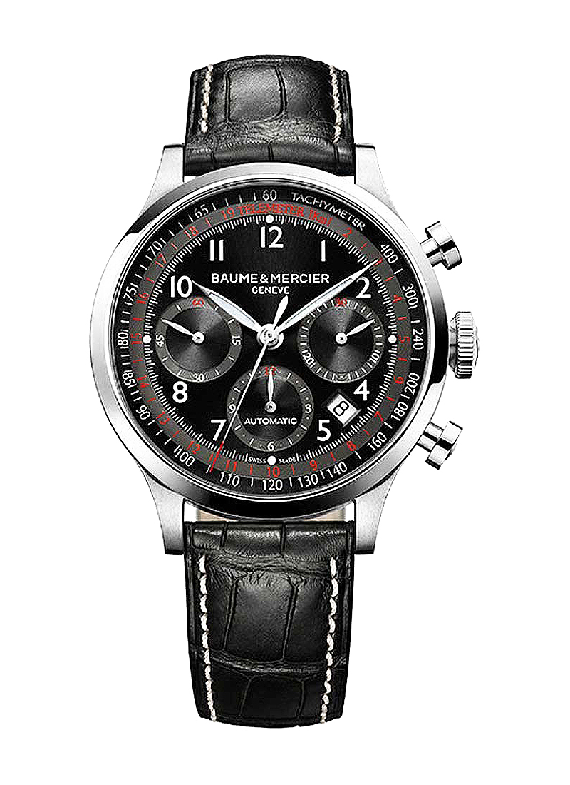 Baume & Mercier Capeland Chronograph 42mm in Steel