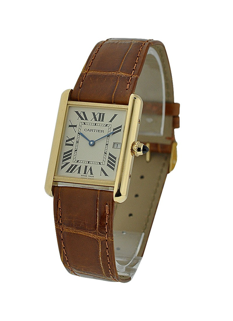 Cartier Tank Louis Yellow Gold