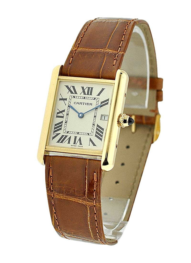 Cartier Tank Louis in Yellow Gold