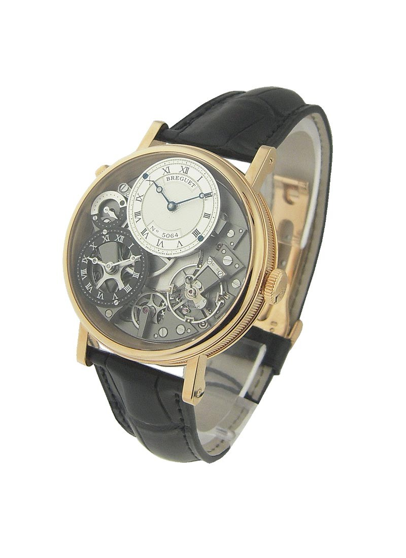 Breguet Tradition 7067 GMT in Rose Gold