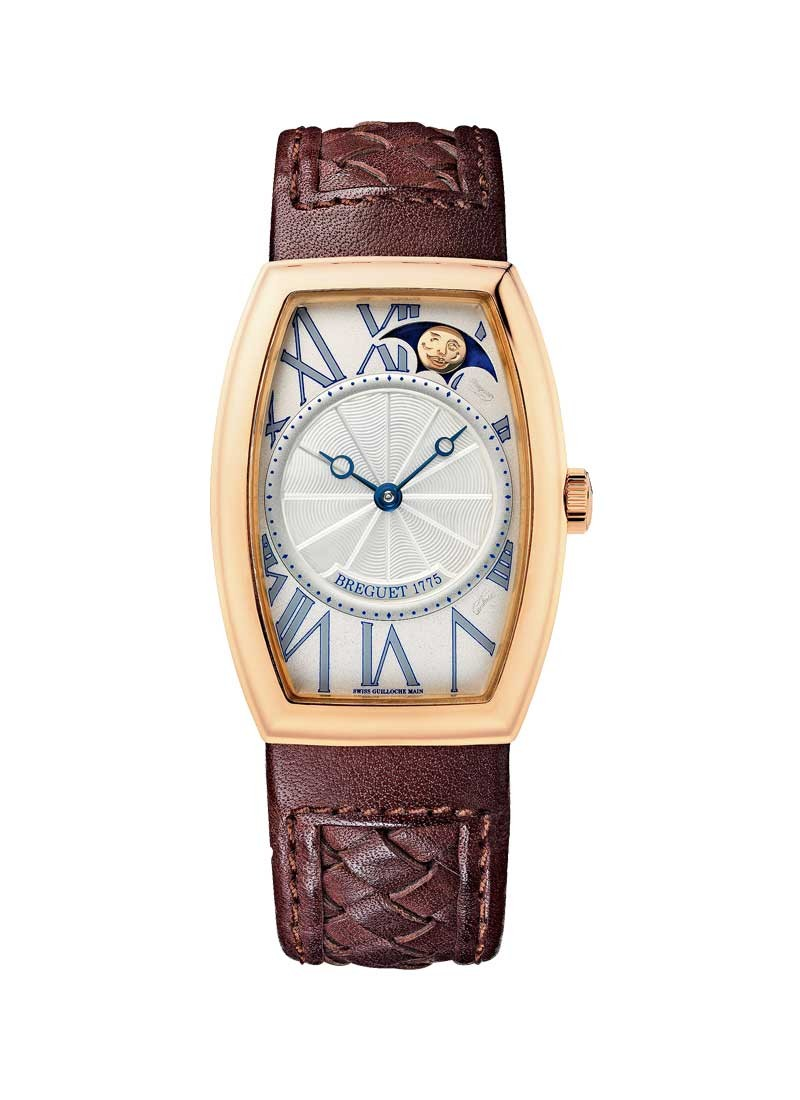 Breguet Heritage Phases de Lune Retrograde in Rose Gold