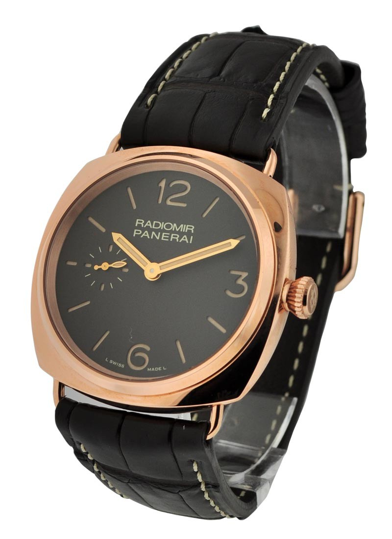 Panerai PAM 439 - Radiomir Oro Rosso Manual Wind in Rose Gold