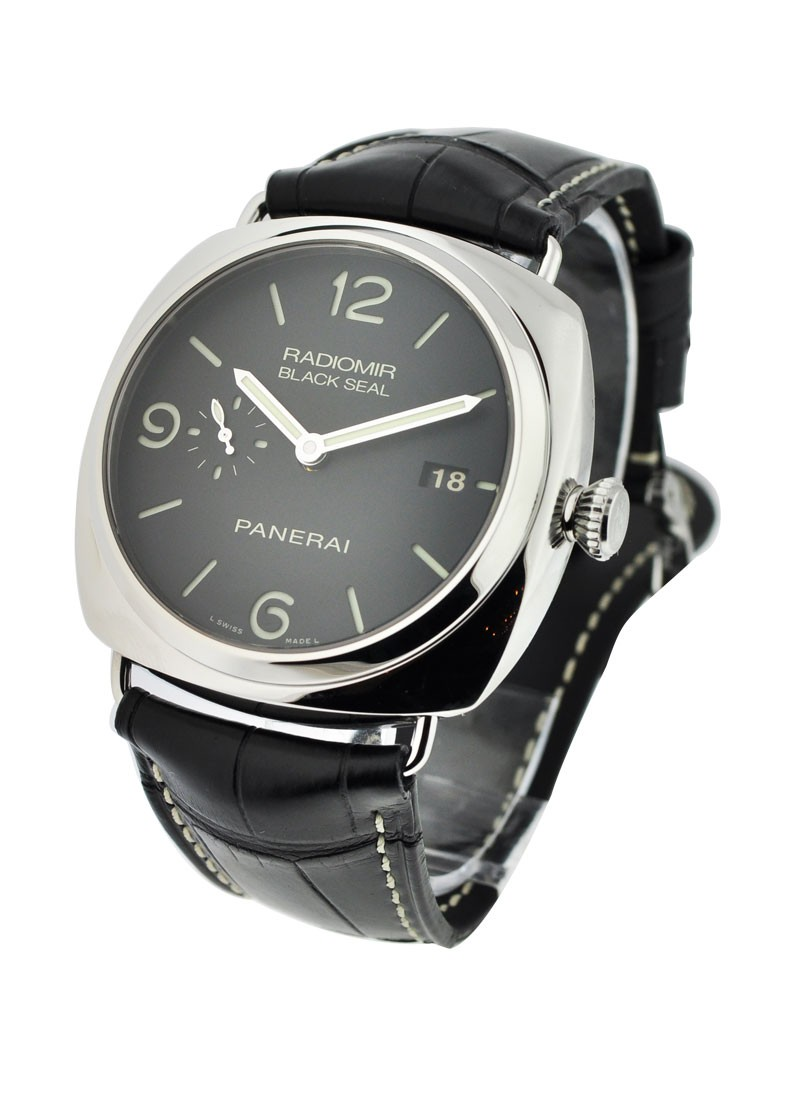 Panerai PAM 388   Radiomir Black Seal 3 Days in Steel