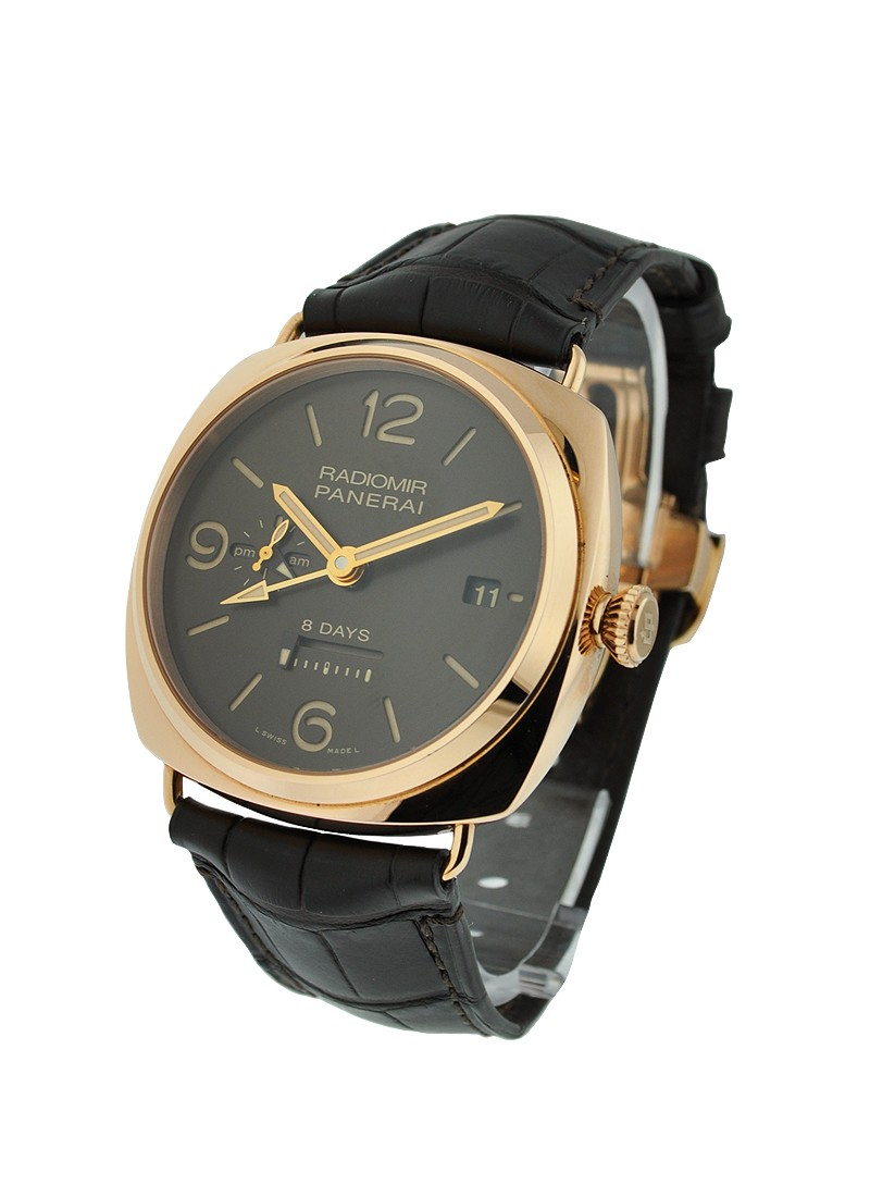 Panerai PAM 395 - Radiomir 8 Days GMT Oro Rosso in Rose Gold