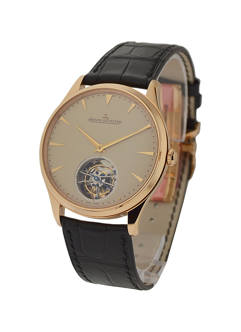 Jaeger - LeCoultre Master Ultra Thin Tourbillon in Rose Gold