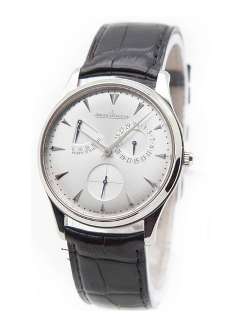 Jaeger - LeCoultre Master Ultra Thin Reserve de Marche in Steel