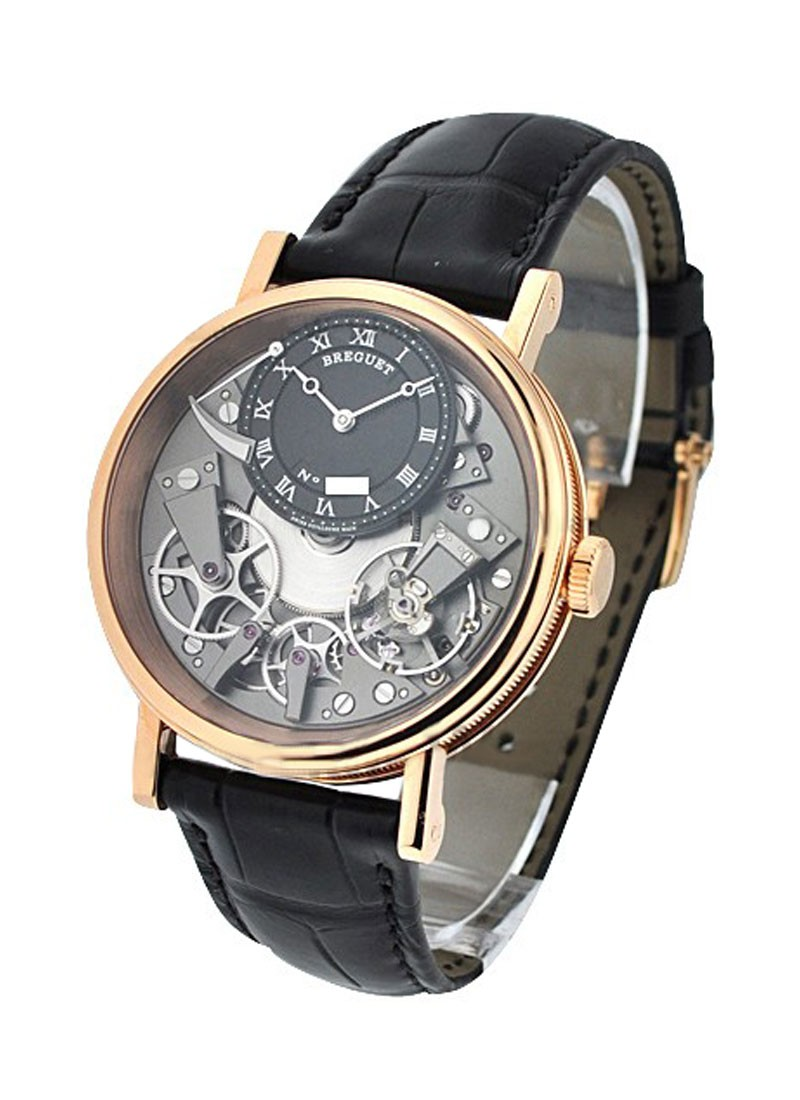Breguet Tradition with Power Reserve in Rose Gold