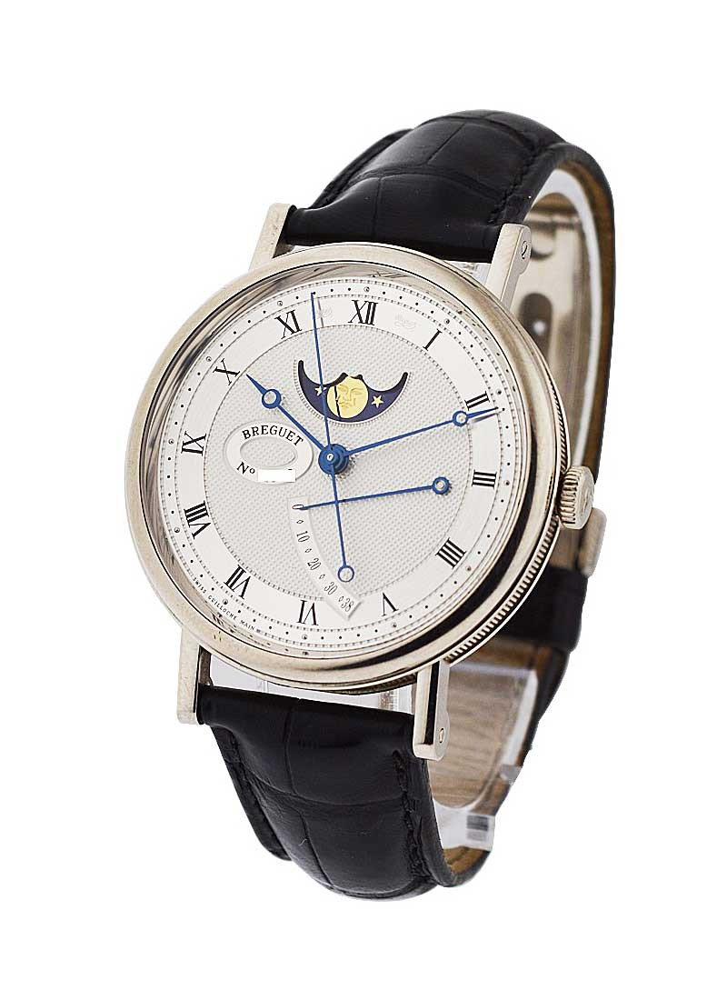 Breguet Classique Moonphase in White Gold