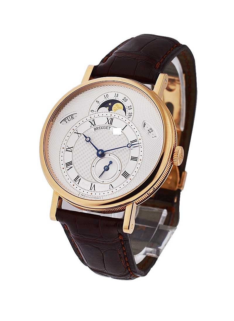 Breguet Classique Moonphase with Day Date Ref 7337