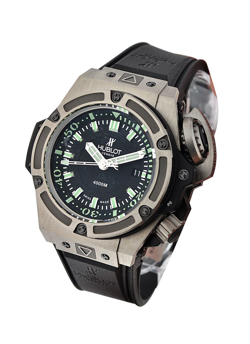 Hublot King Power Oceanographic 4000 in Titanium