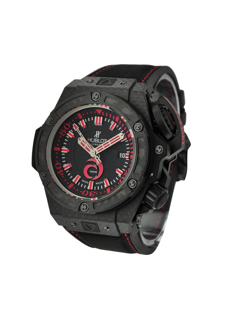 Hublot King Power Big Bang Alinghi 4000 in Black Carbon