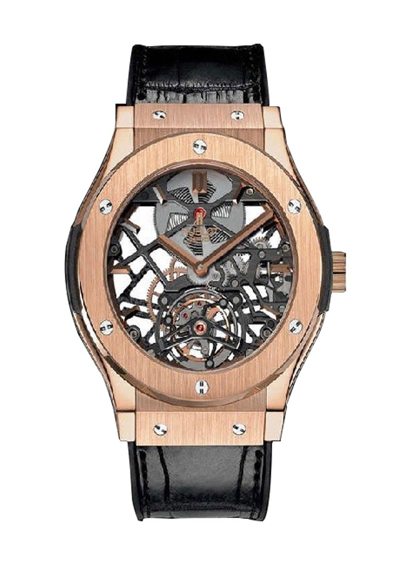 Hublot Classic Fusion 45mm Tourbillon in Rose Gold