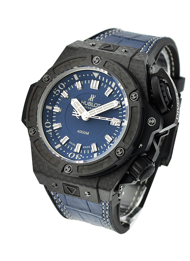Hublot King Power Big Bang Oceanographic 4000 in Carbon Fiber