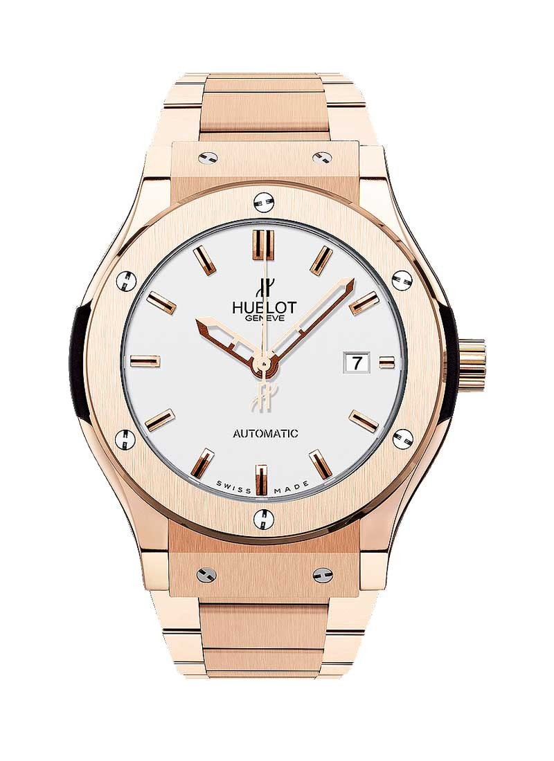 Hublot Classic Fusion 42mm in Rose Gold