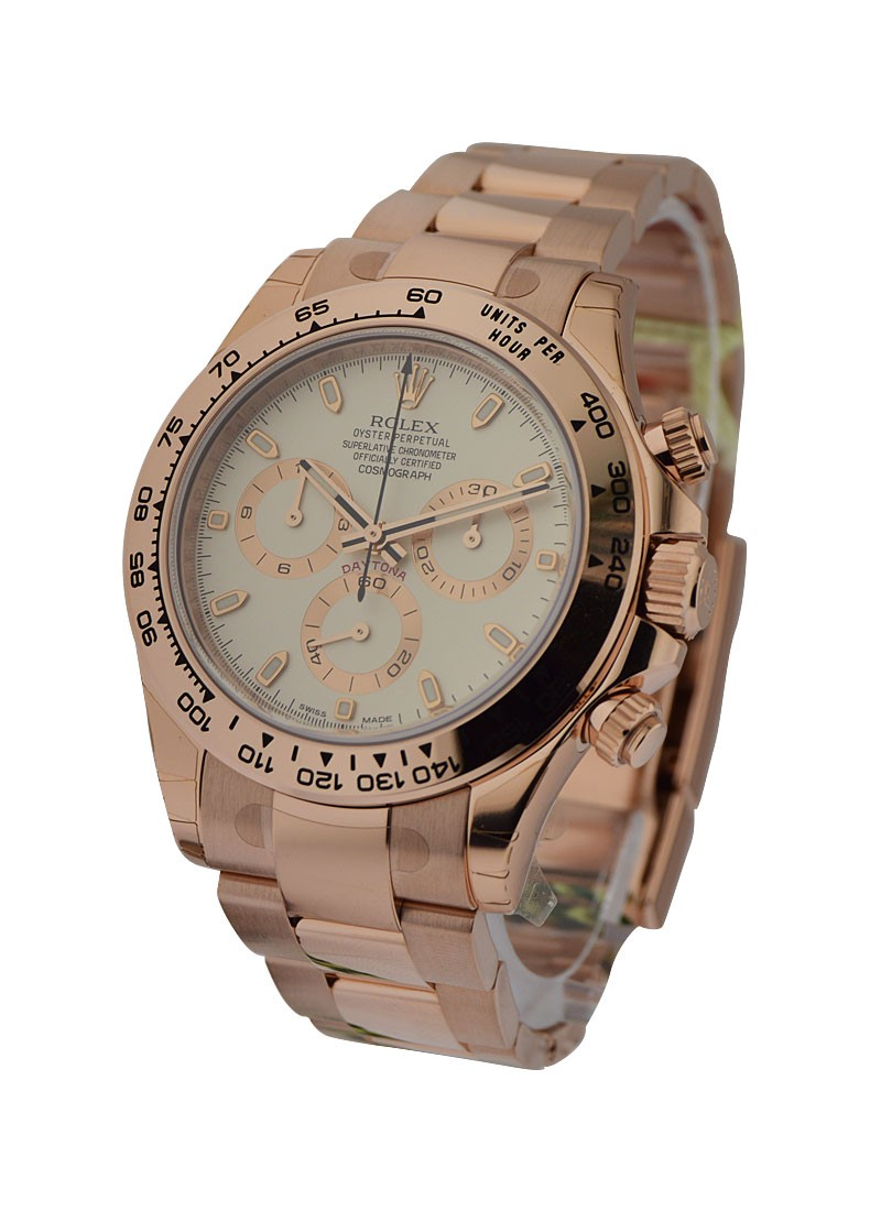Rolex Unworn Daytona Cosmograph in Rose Gold