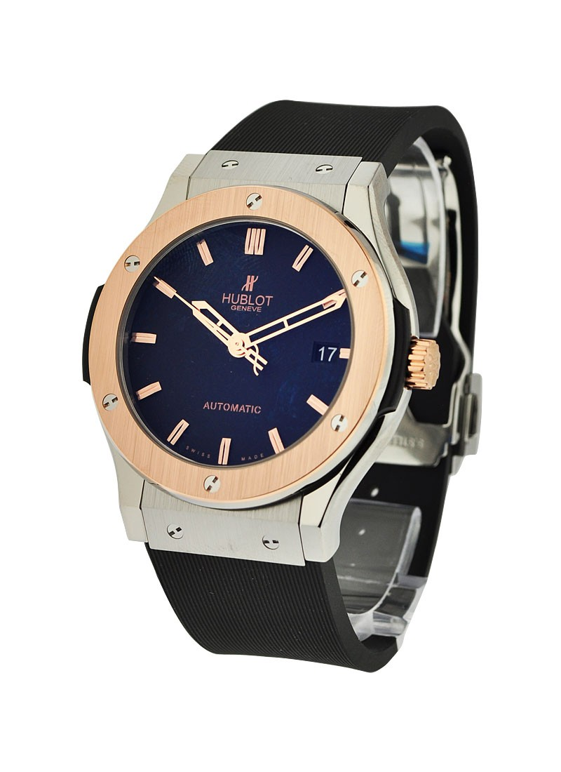 Hublot Classic Fusion King Gold in Titanium and Rose Gold with Rose Gold Bezel