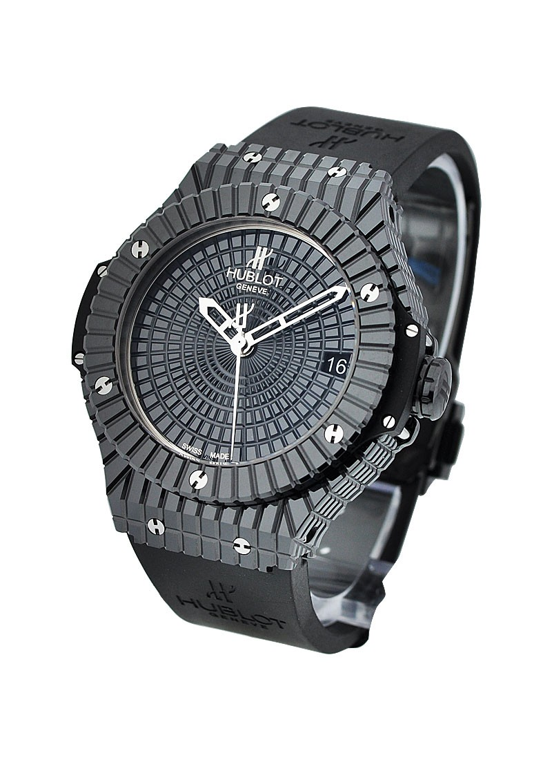 Hublot Big Bang 41mm  Black Caviar in Black Ceramic