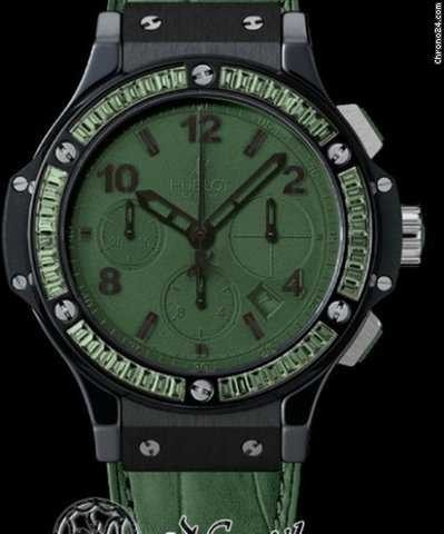 Hublot Big Bang 41mm   Tutti Frutti   Dark Green Carat