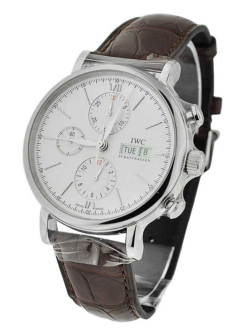 IWC Portofino Chronograph 42mm Automatic in Stainless Steel