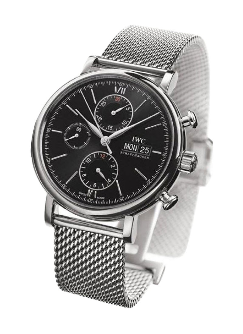 IWC Portofino Chronograph in Steel