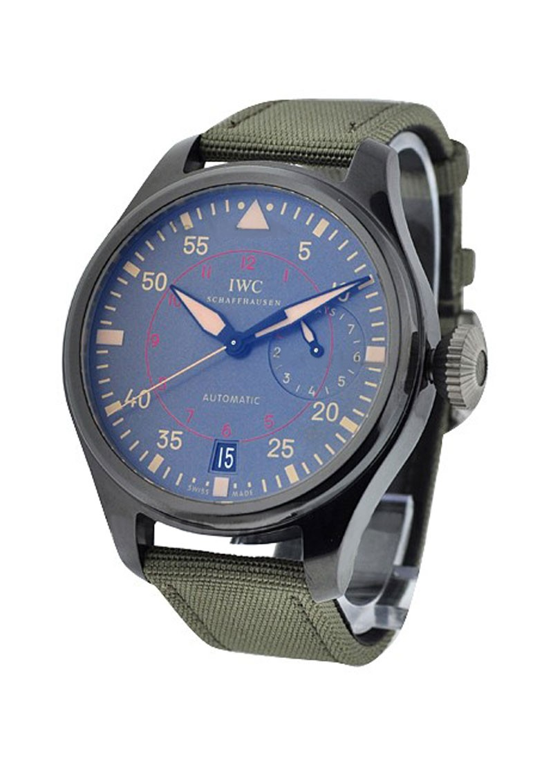 IWC Big Pilot Top Gun Miramar in Black Ceramic