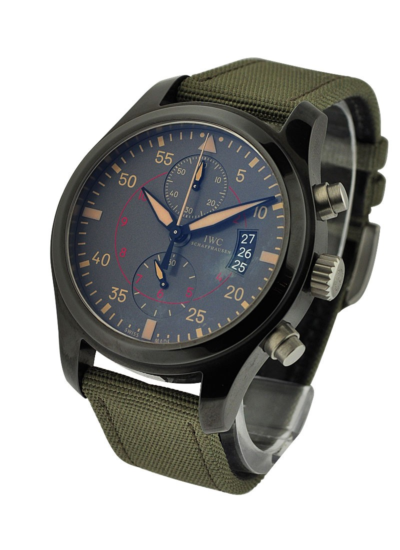 IWC Pilots Chronograph Top Gun Miramar in Black Ceramic