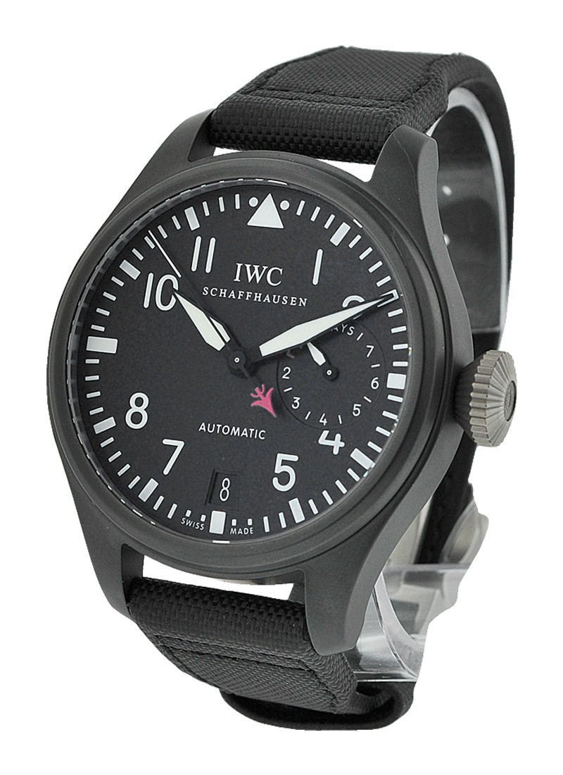 IWC Big Pilot Ceramic Top Gun in Black Ceramic