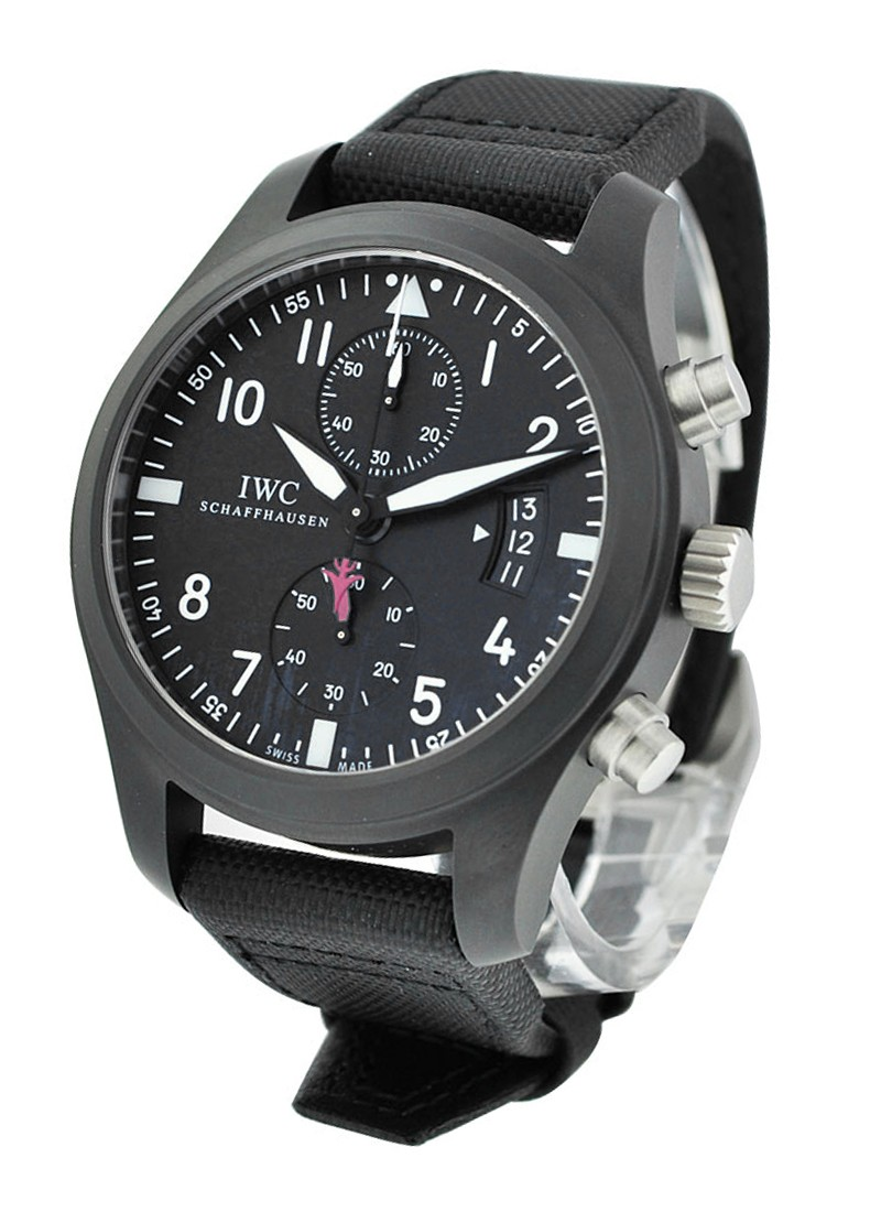 IWC Pilots Chronograph 46mm with steel
