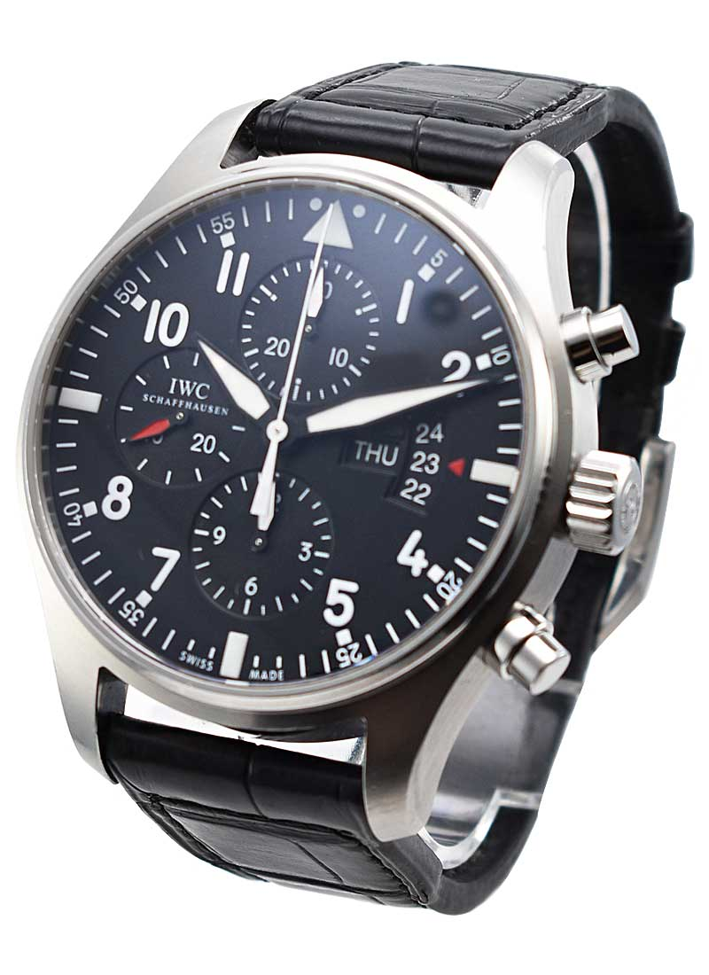 IWC Pilots Chronograph - Classic in Stainless Steel